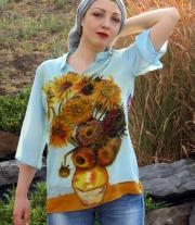 Рубашка батик