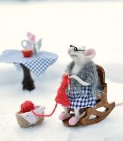 Мышка-вязальщица