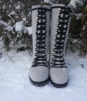 ботинки женские  Серебряная зима