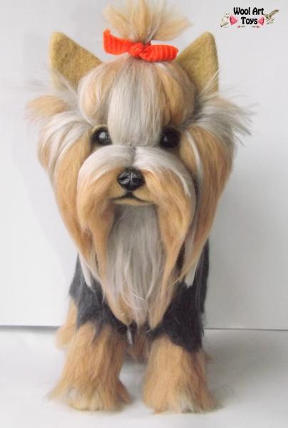 Игрушка собака йорк