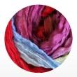 многоцветные шарфы 90см*150см