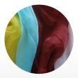 натуральный шелк 100% цветной