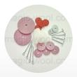 шплинты, диски, шайбы и другие крепежи для игрушек