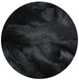 шерсть Wensleydale черная