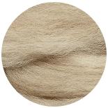 меринос натуральный (merino) + бленды меринос мелированный бежевый 22мкм