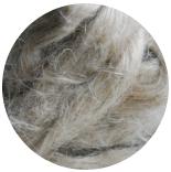 льняные волокна неокрашенный натурально-серый