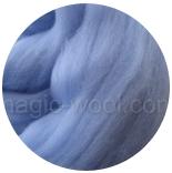 австралийский меринос 16мкм голубой