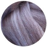 австралийский меринос 16мкм коричневый меланж