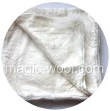 шелковые платки (mawata silk) окрашенные шелковые платки (Mawata Silk) натурального цвета