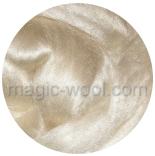 другие шелк и неокрашенные волокна шелк Tussah белый