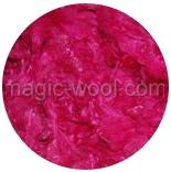 кудри окрашенные флис wenslеydale розовые