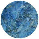 кудри окрашенные флис wenslеydale -светло-голубые