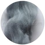 гребенная лента (топс) натуральных и цветных оттенков Дымчатый