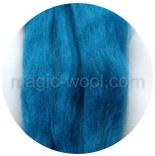 гребенная лента (топс) натуральных и цветных оттенков Синева
