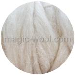 гребенная лента (топс) натуральных и цветных оттенков натурально светлый 28мкм