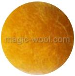 новозеландская кардочесанная шерсть (Латвия) 27мкм желто оранжевый К2001