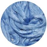 шелк Maulbeer окрашенный Германия светло голубой