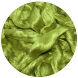 шелк Maulbeer окрашенный салатный