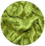 шелк Maulbeer окрашенный Германия салатный