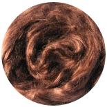 шелк Maulbeer окрашенный светло коричневый