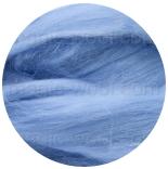 бленд(микс) в тон шерсти 18 мкм 70%мериноса + 30%шелк tussah сентябрь
