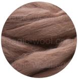 бленд(микс) в тон шерсти 18 мкм 70%мериноса + 30%шелк tussah кружево