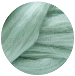 бленд(микс) в тон шерсти 18 мкм 70%мериноса + 30%шелк tussah рай