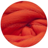 меринос 21 мкм Германия красно-оранжевый