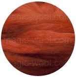 меринос 21 мкм Германия красно-коричневый