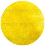 новозеландская кардочесанная шерсть (Латвия) 27мкм желтый К2003