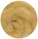 новозеландская кардочесанная шерсть (Латвия) 27мкм песочный К2008
