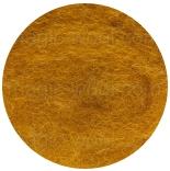 новозеландская кардочесанная шерсть (Латвия) 27мкм горчичныйК2010