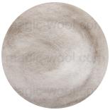 новозеландская кардочесанная шерсть (Латвия) 27мкм бело серый К4021
