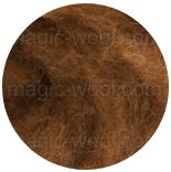 новозеландская кардочесанная шерсть (Латвия) 27мкм виски К2012