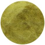 новозеландская кардочесанная шерсть (Латвия) 27мкм светлая олива К5014