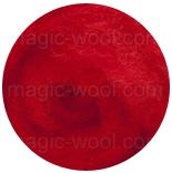 новозеландская кардочесанная шерсть (Латвия) 27мкм красный К3003