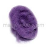 шелк Tussah цветной пурпурный (purple)