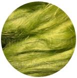льняные волокна салатный