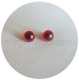 глазки для игрушек глазки 9мм красные