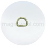 Крепления, соединительные элементы, рамки, кольца и т. д. полукольцо 35мм*25 антик
