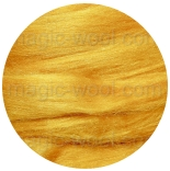 шелк Tussah цветной желток (yolk)