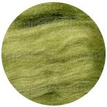 шелк Tussah цветной лист