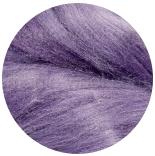 шелк Tussah цветной фиолет (violet)