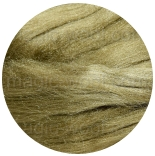 шелк Tussah цветной олива