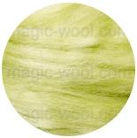 шелк Tussah цветной хлорофил