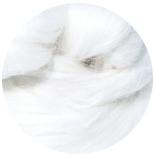 льняные волокна лен натурально-белый