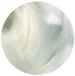 волокна крапивы натурально белая