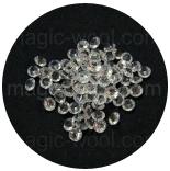 бусины различные кристаллы 7мм