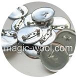 Основа для броши основа для броши и значков круглая d 25мм