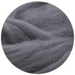 бленд(микс) в тон шерсти 18 мкм 70%мериноса + 30%шелк tussah шторм